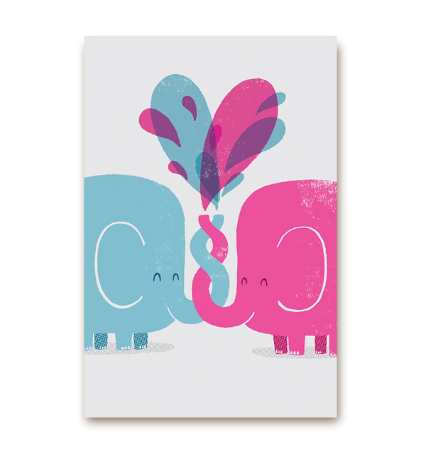 Two Elephants - Lagom Design