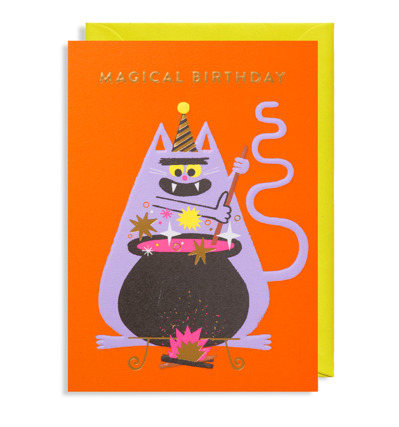 Make Some Magic: Birthday Card