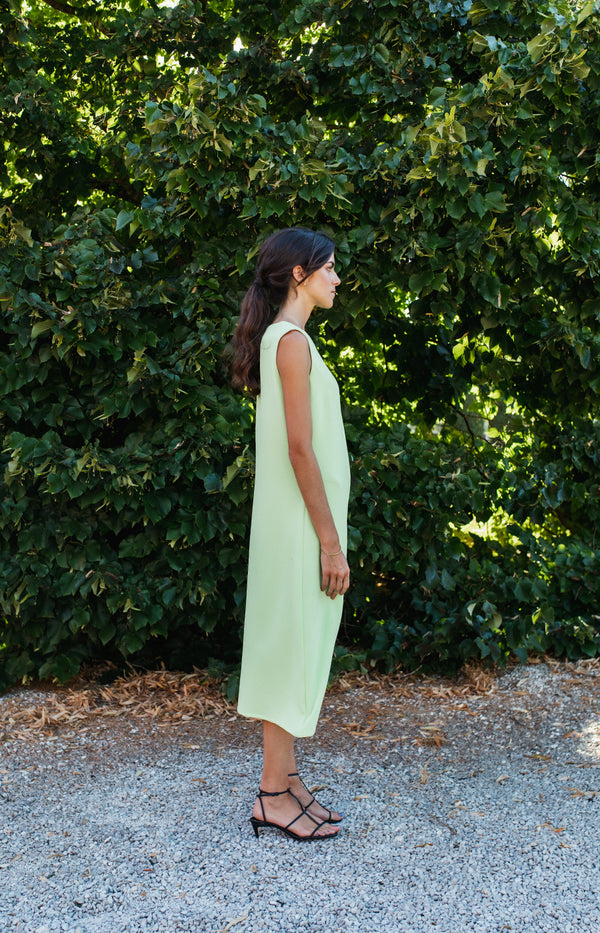 Marys Green Citron Dress