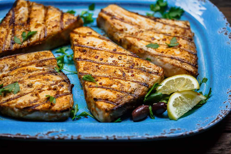 Grilled Swordfish with a Mediterranean Twist | Grocer Collective