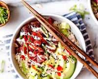 Spicy Tuna (or Salmon) Poke Bowl | Grocer Collective