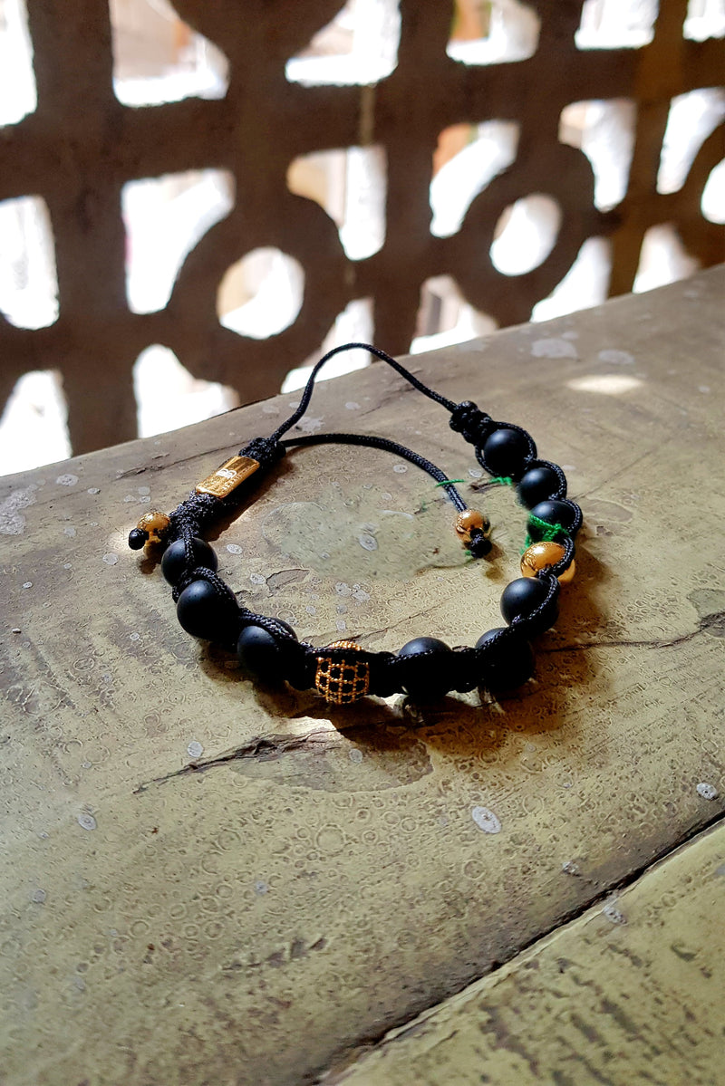 The Urban Pod Macrame Bracelet
