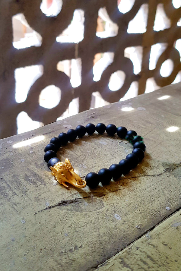 The Elephant Head Beaded Bracelet