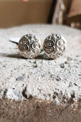 Fire Of Filigree Cufflink Set