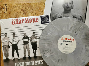 "Warzone ""Open Your Eyes"" LP"