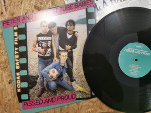 "Peter & the Test Tube Babie ""Pissed And Proud"" LP"