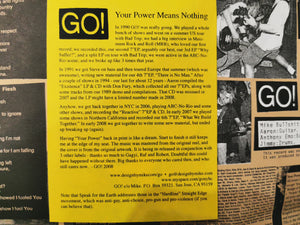 "Go! ""Your Power Means Nothing."" 7"""