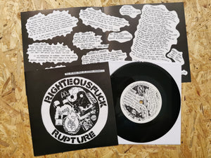 "Rupture ""Righteous Fuck"" 7"""