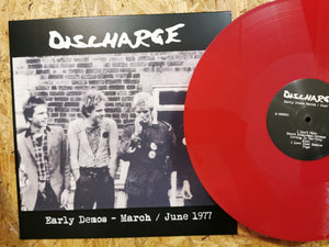 "Discharge ""Early Demos March - June 1977"" LP"