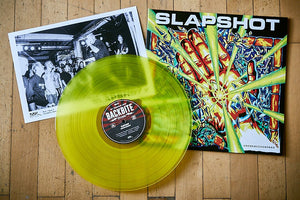 "Slapshot ""Unconciousness"" LP (colored)"