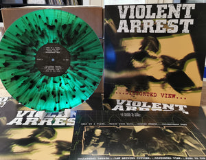 "Violent Arrest ""Distortet View"" LP (green splatter)"