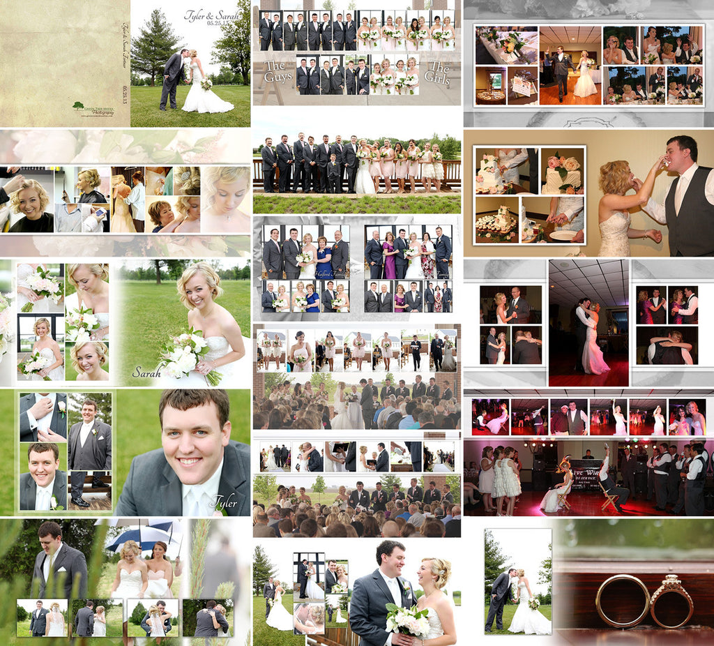 Album Template: Simply Chic Wedding