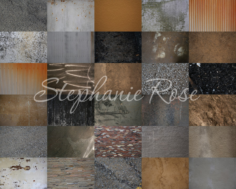 Stephanie Rose Grunge Overlays