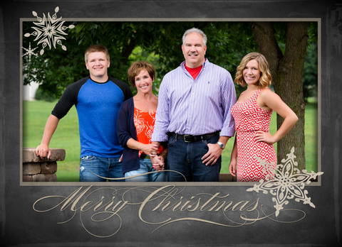 Card Template: 5x7 Manley Christmas