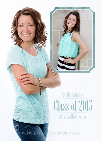 Card Template: 4x5.5 Shelbi Grad