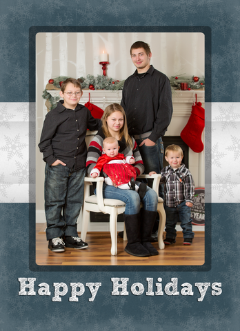 Card Template: 4x5.5 Holiday