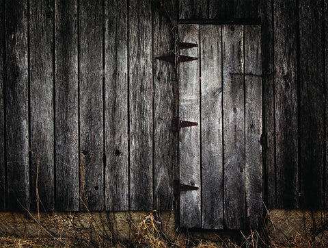 Dark Barn Door