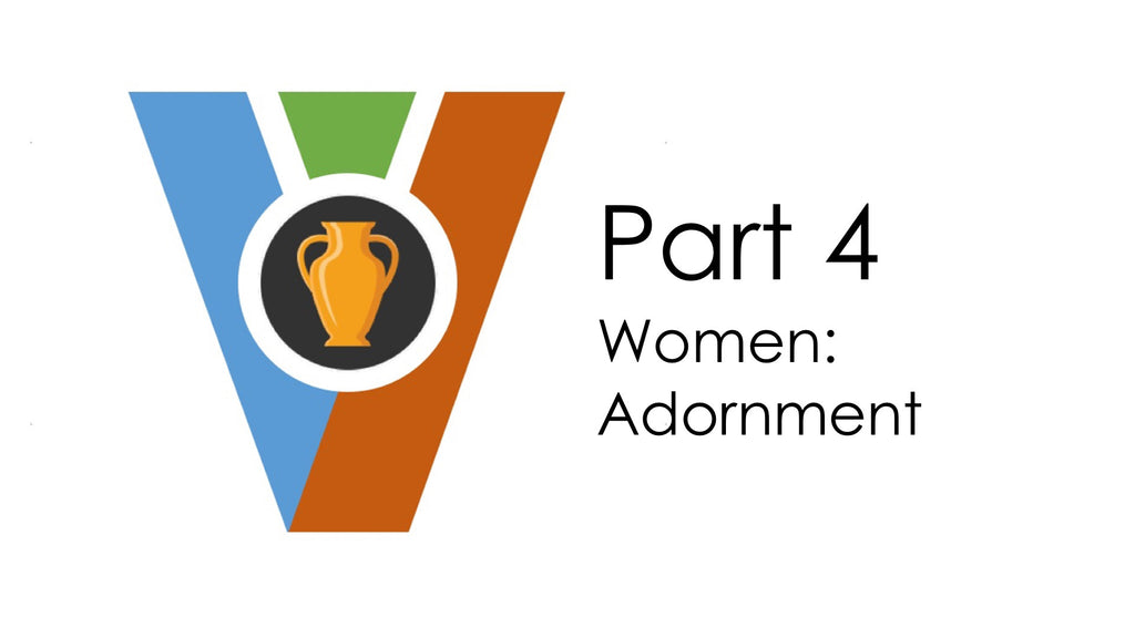 (Audio Download) Vessels of Honor Part 4 - Women:Adornment