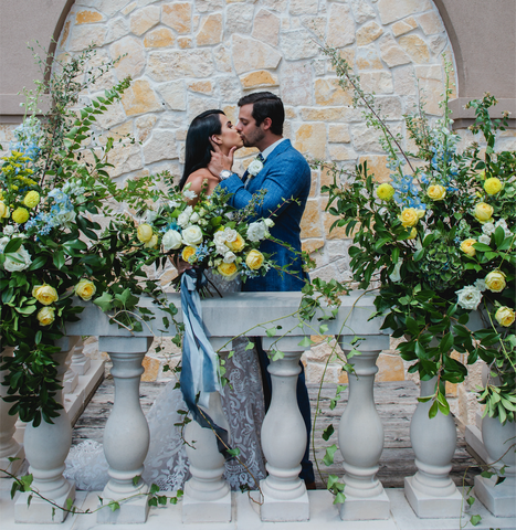 Limoncello-Inspired Wedding Colors