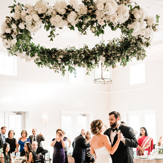 Dallas Wedding Florist | Specializing in Large, Creative Installations like Floral Chandeliers, Flower Walls, Freestanding Installations, Altar Installations, and more