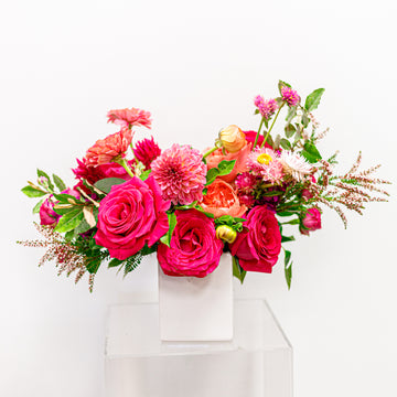 Ooooh, Honey! - Florist Design in Summer Seasonal Blooms | Local Arrangements - Lizzie Bee's Flower Shoppe