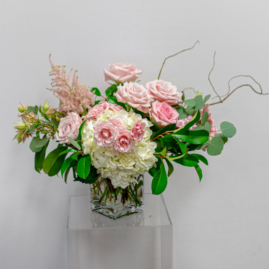 Softer Buzz - Florist Design in Muted Tones | Local Arrangements - Lizzie Bee's Flower Shoppe