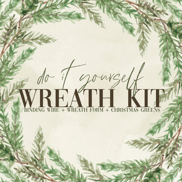 DIY Wreath Kit |  - Lizzie Bee's Flower Shoppe
