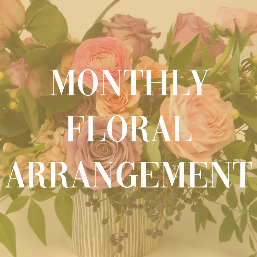 Monthly Flower Subscription - 3 MONTH SUBSCRIPTION | Monthly Flower Subscription - Lizzie Bee's Flower Shoppe
