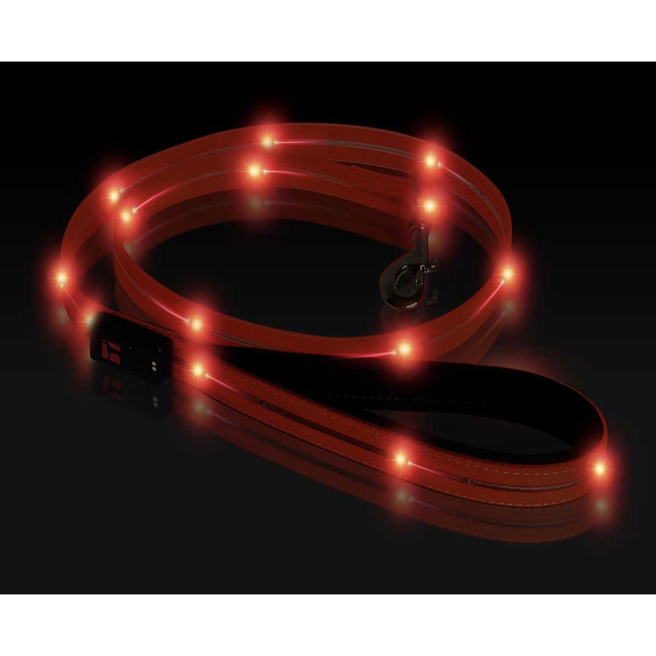 Ultrahund Orange LED Waterproof Lead - Toys For A Pet