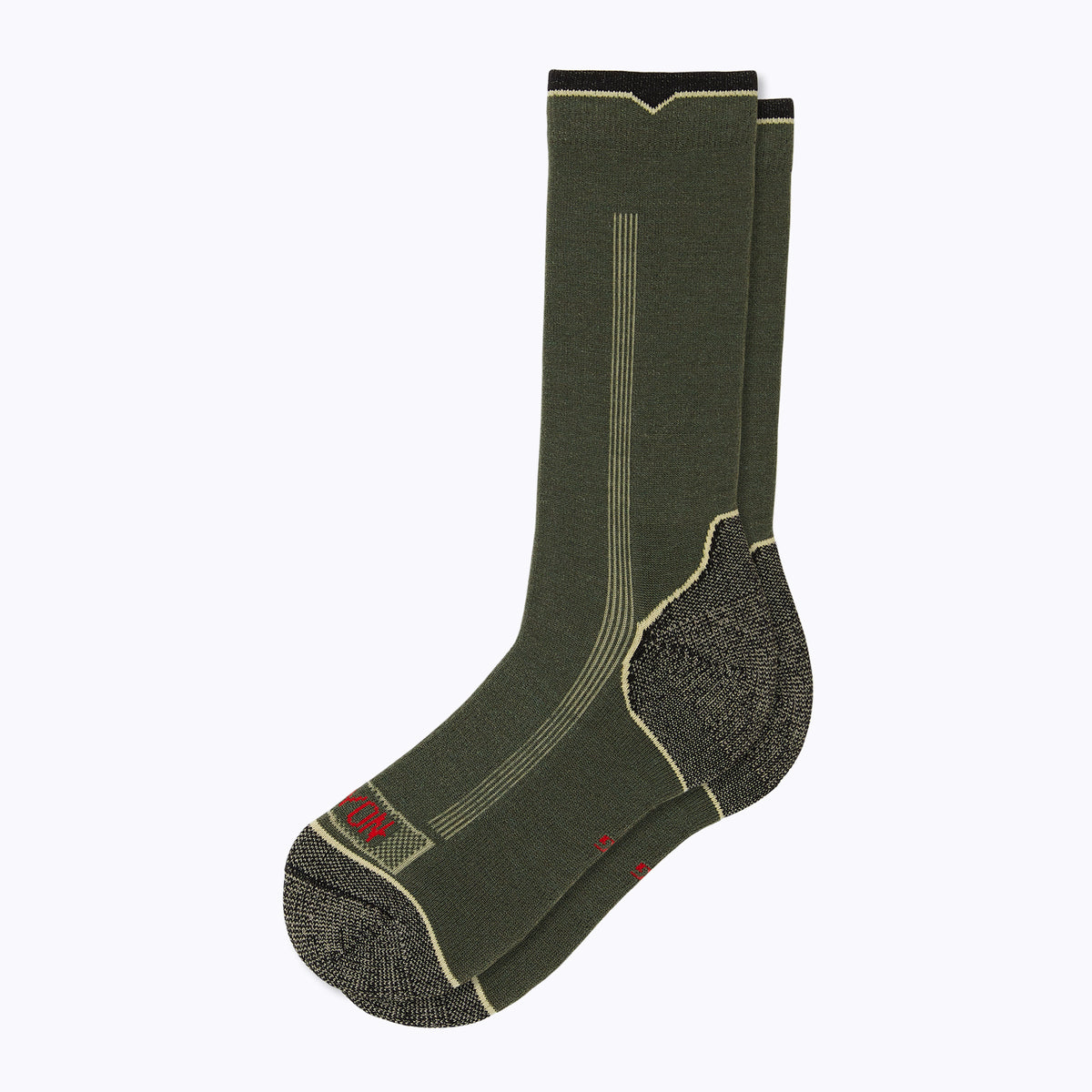 Destination Men's Crew Socks - Olive by Canyon Socks