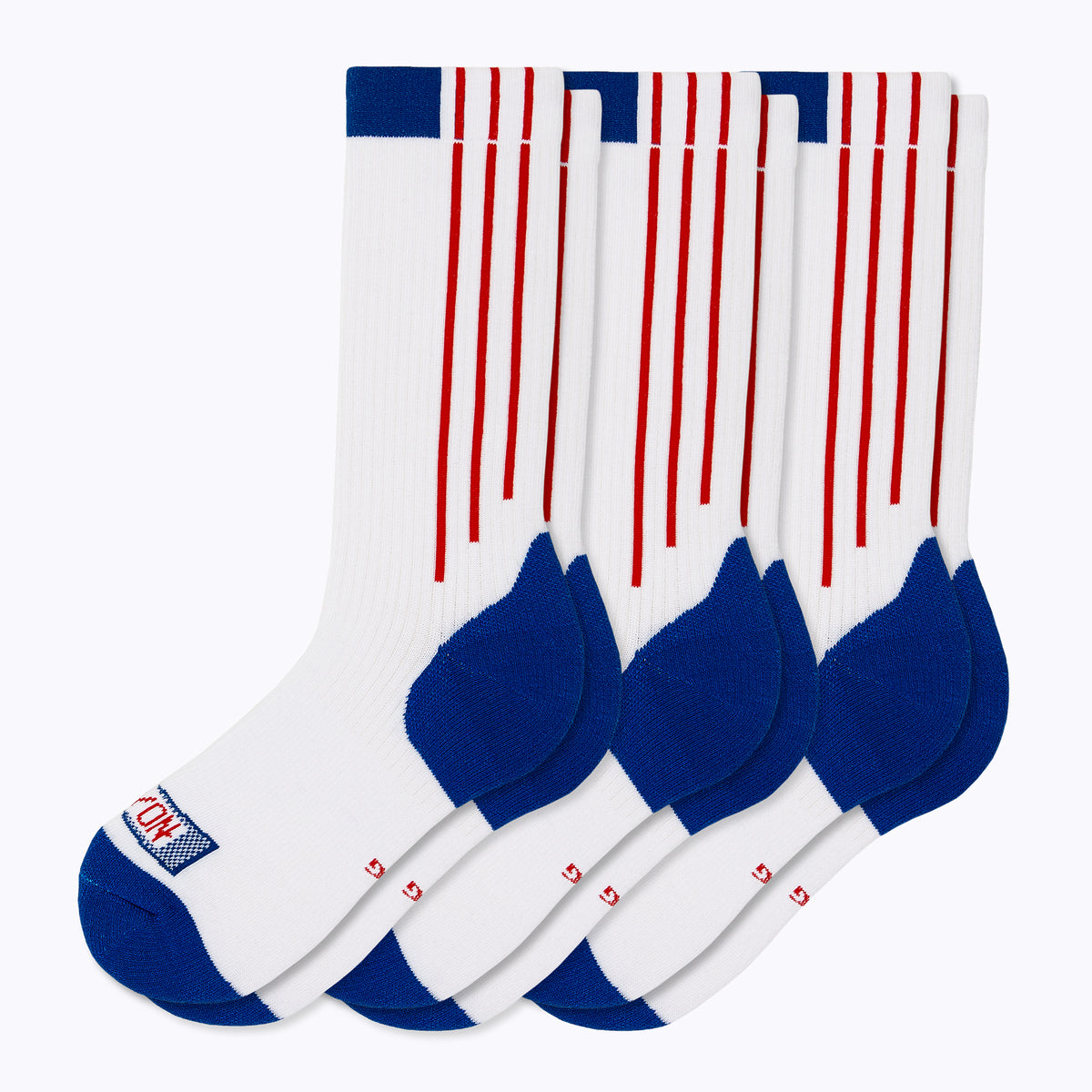 Americana 3 Pack Men's Crew Socks - RWB by Canyon Socks