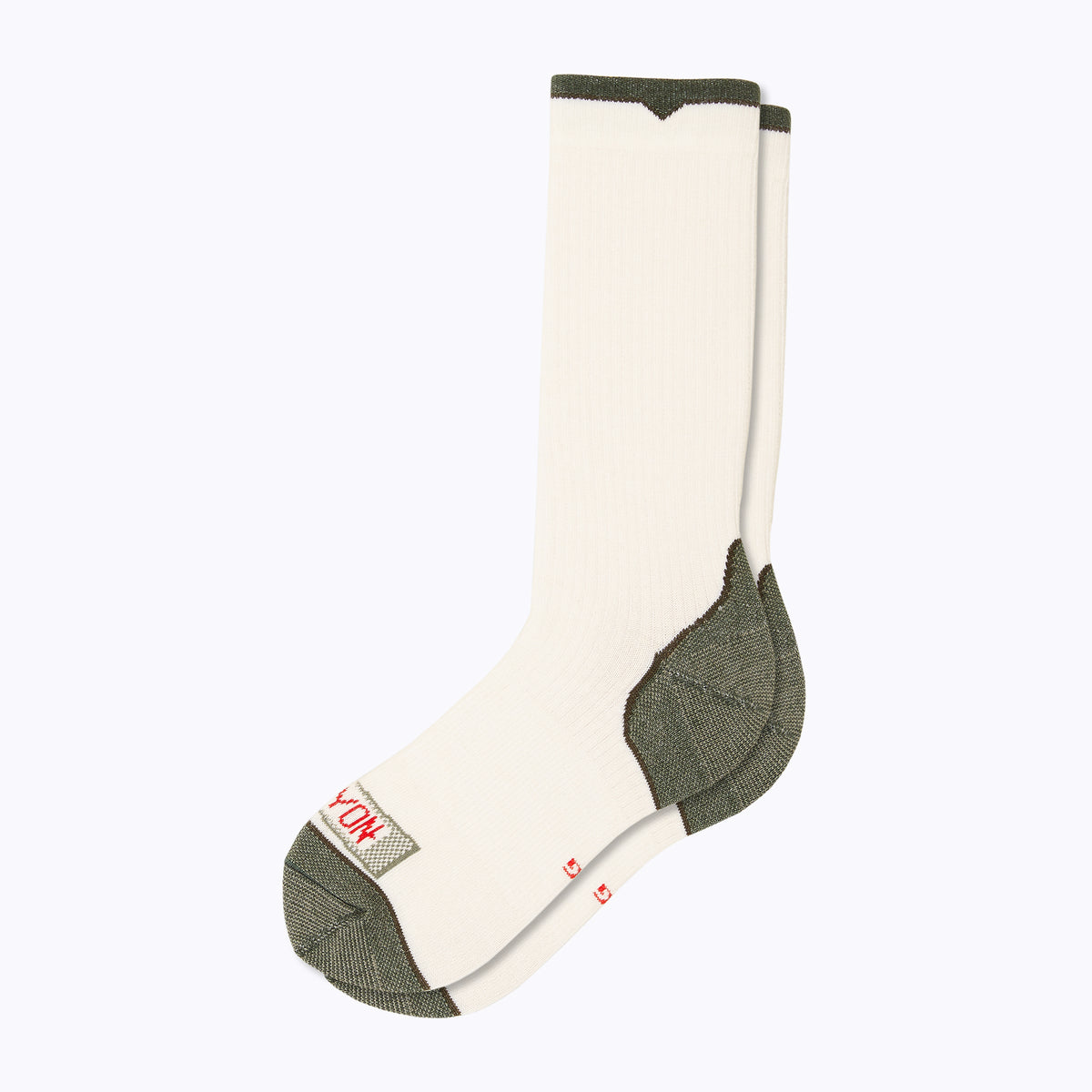 Essential Men's Crew Socks - White by Canyon Socks