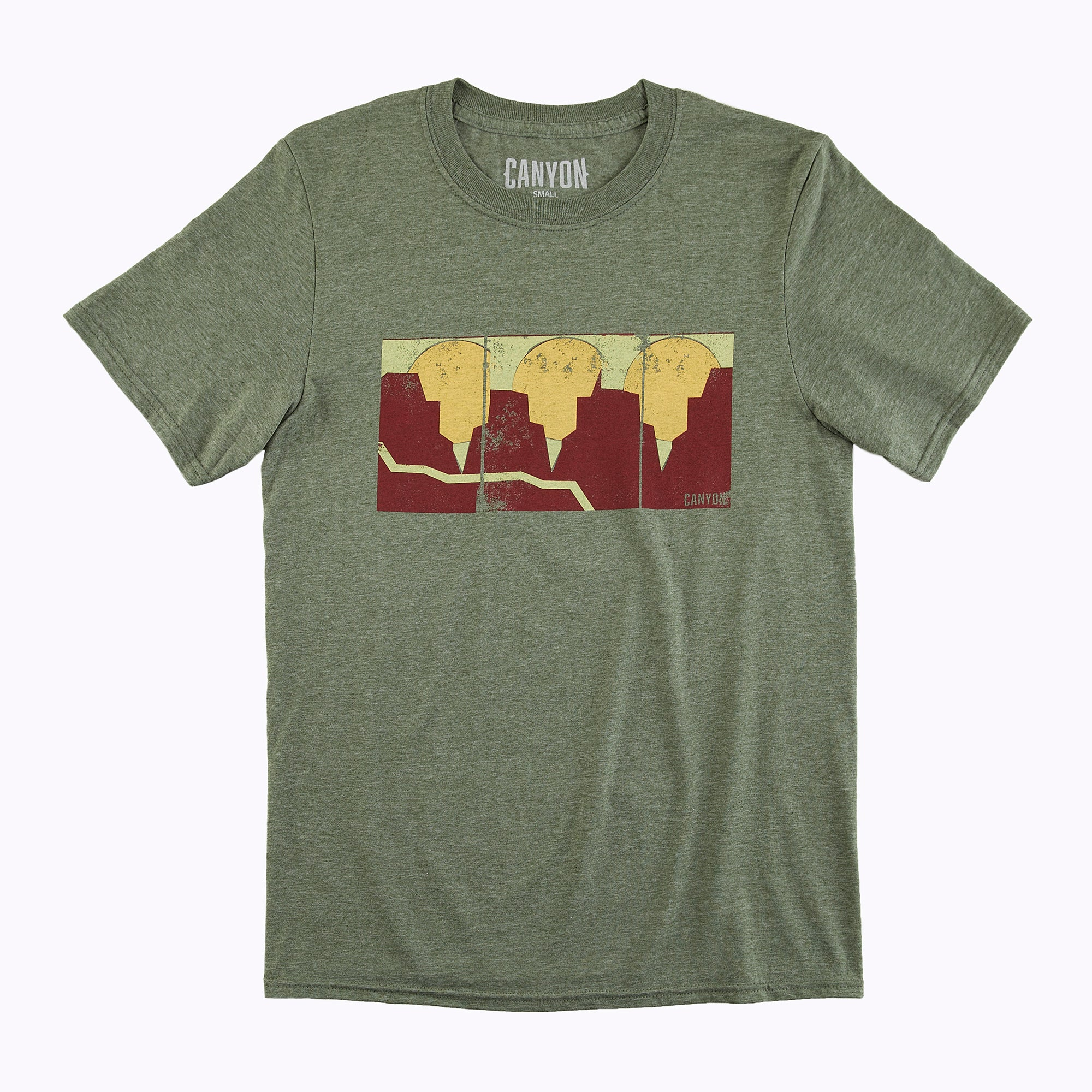 Sundowner Tee Shirt - Small by Canyon Socks