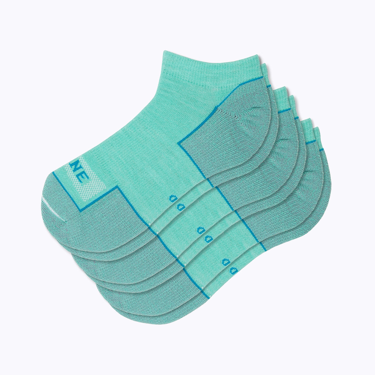 Everyday 3 Pack Women's Ankle Socks - Turq by Canyon x Lane Socks