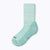 Kelsey Women's Crew Socks - Turq + White by Canyon x Lane Socks