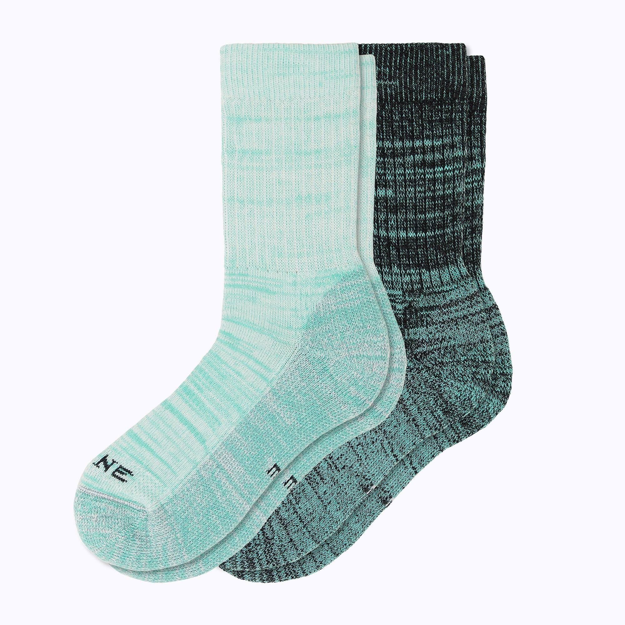 Kelsey 2 Pack Mix Women's Crew Socks - Mix by Canyon x Lane Socks