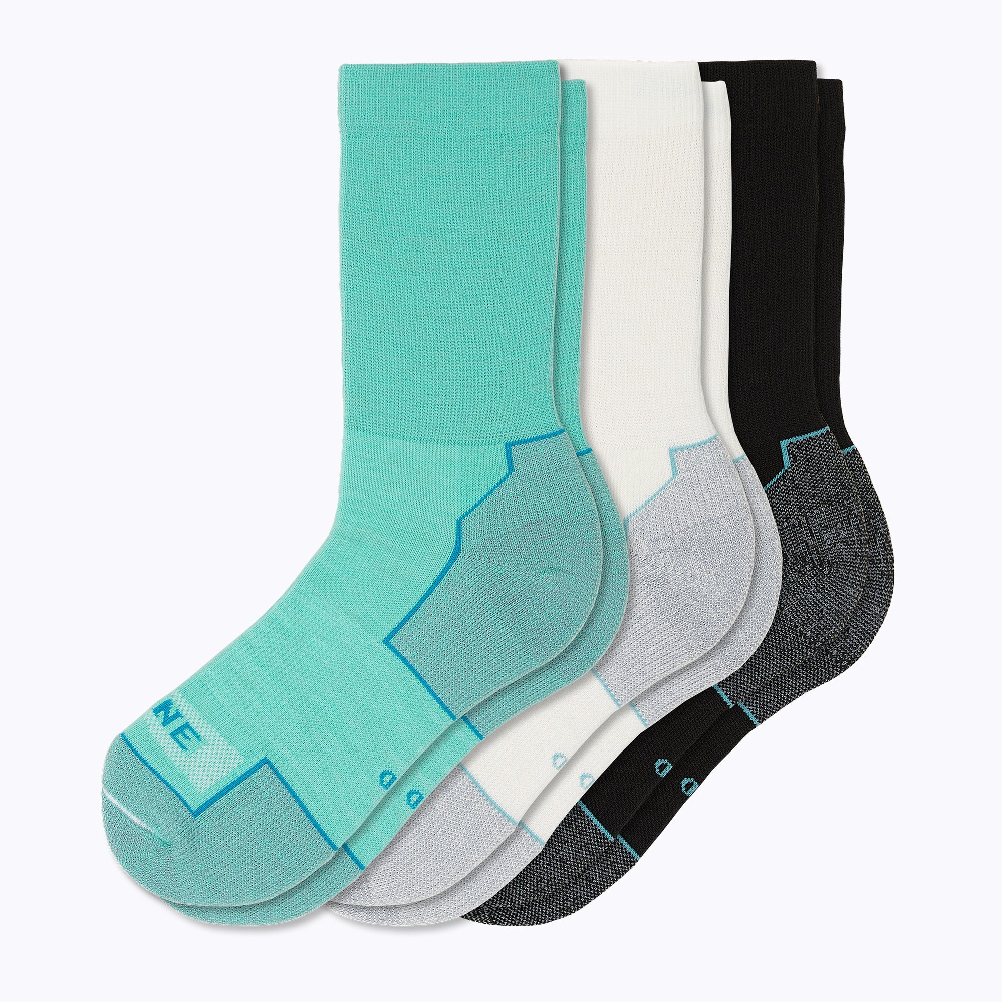 Everyday 3 Pack Mix Women's Crew Socks - Mix by Canyon x Lane Socks