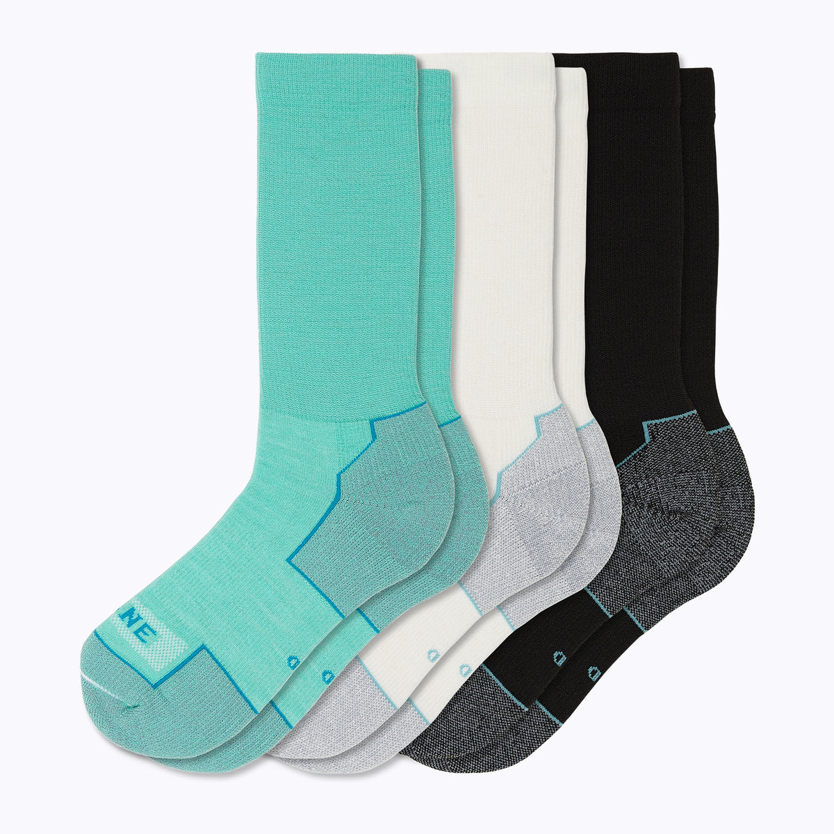 Everyday 3 Pack Mix Women's Mid-Calf Socks - Mix by Canyon x Lane Socks