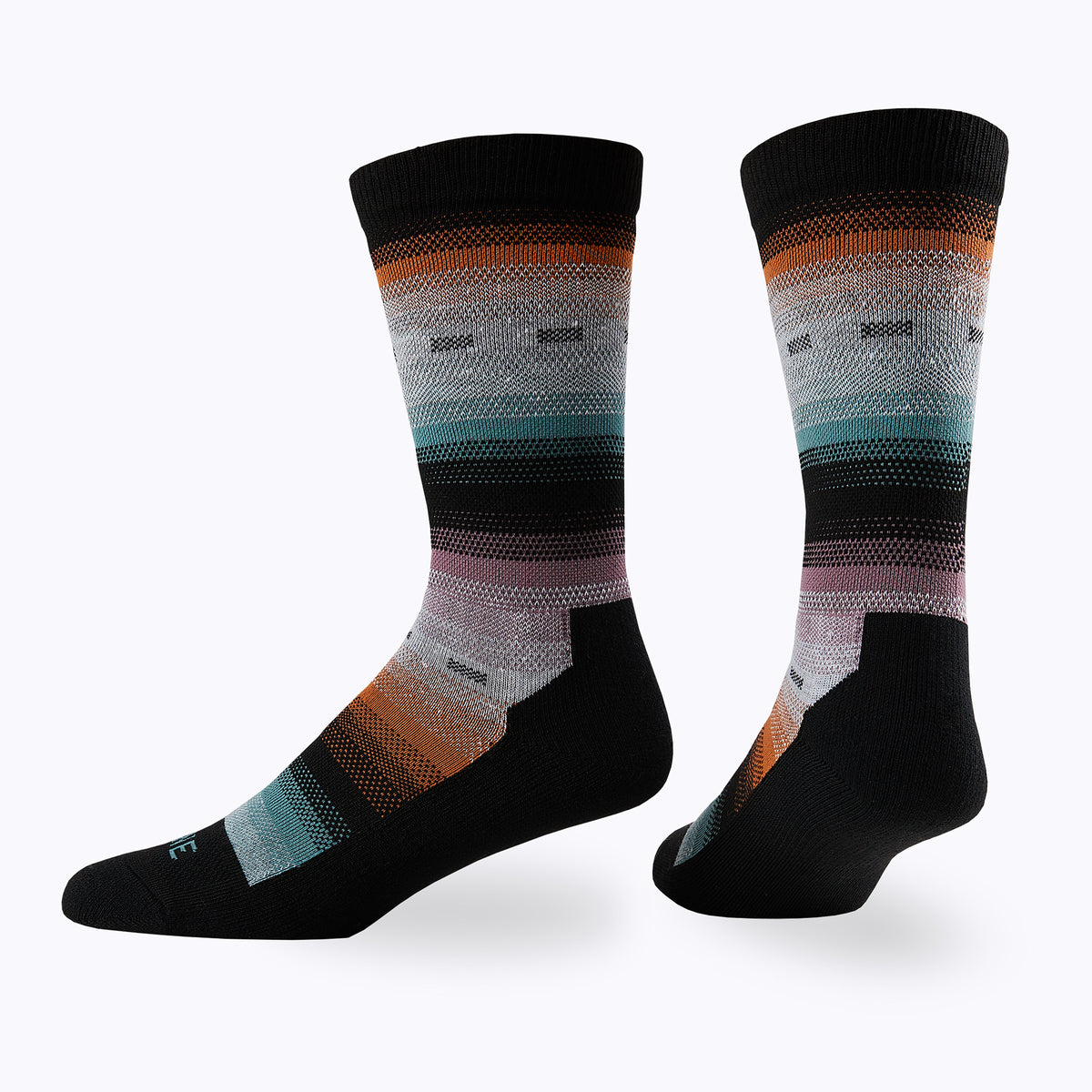 Serape Women's Mid-Calf Socks -  by Canyon x Lane Socks
