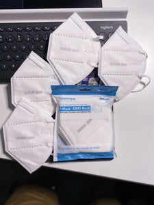 KN95 Face Masks ~ IN STOCK ships now! 5-ply Filtration layers, FDA & CE approved 5-pack sealed