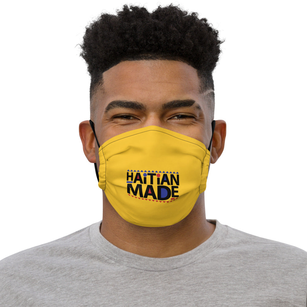 Haitian Made [Yellow] - Face mask