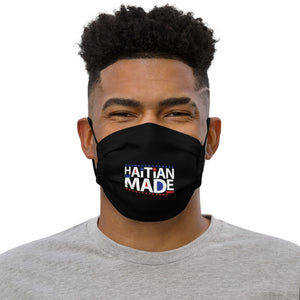 Haitian Made [Black] - Face mask