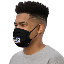 Load image into Gallery viewer, Haitian Made [Black] - Face mask