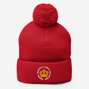 Inspire, Respect and Teach - Puff Beanie