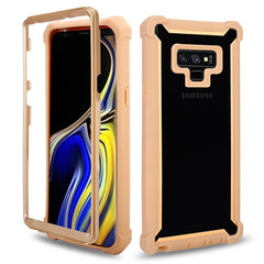 Shockproof Heavy Duty Protection Phone Case for Samsung Galaxy - Gold