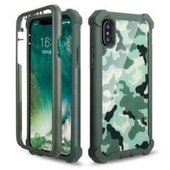 Shockproof Heavy Duty Protection Phone Case for Samsung Galaxy - Green
