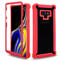 Shockproof Heavy Duty Protection Phone Case for Samsung Galaxy - Red