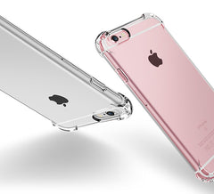 Clear Silicone TPU iPhone Cases