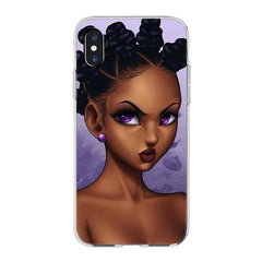 Melanin Queens iPhone Cases - Hot Chocolate