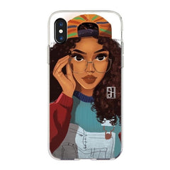 Melanin Queens iPhone Cases - 80's Baby